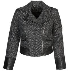 衣服 女士 夹克 Fornarina SELINE 灰色 / 黑色