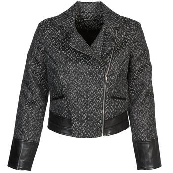 衣服 女士 夾克 Fornarina SELINE 灰色 / 黑色