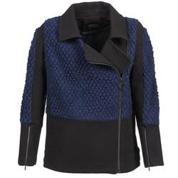 衣服 女士 夹克 Eleven Paris FLEITZ 黑色 / 蓝色