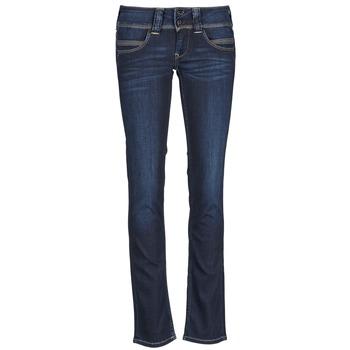 衣服 女士 直筒牛仔裤 Pepe jeans VENUS 蓝色 /  h06