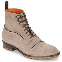 鞋子 男士 短筒靴 Etro 艾特罗 E174 灰褐色