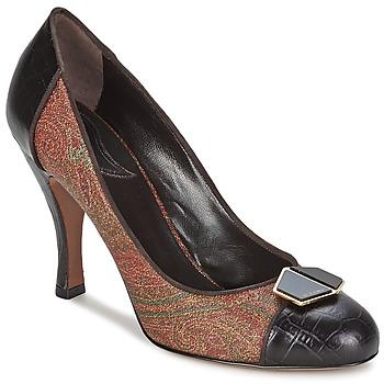 鞋子 女士 高跟鞋 Etro 艾特罗 3074 棕色