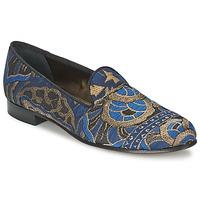 鞋子 女士 皮便鞋 Etro 艾特罗 3046 黑色 / 蓝色