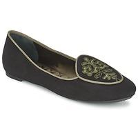 鞋子 女士 平底鞋 Etro 艾特罗 3059 黑色 / 卡其色