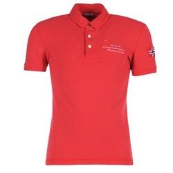 衣服 男士 短袖保罗衫 Napapijri ELBAS 红色