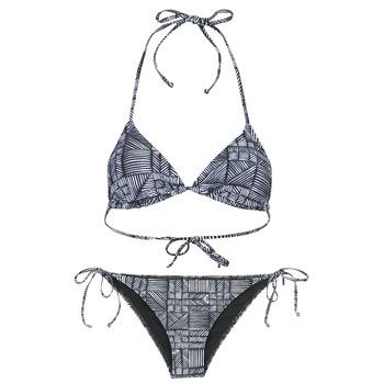 衣服 女士 泳装两件套 Roxy 罗克西 DOLTY 黑色 / 白色
