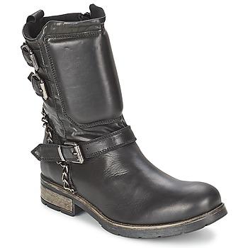 鞋子 女士 短筒靴 Casual Attitude SERIS 黑色