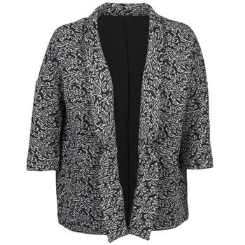 衣服 女士 外套/薄款西服 Sisley FRANDA 黑色 / 灰色