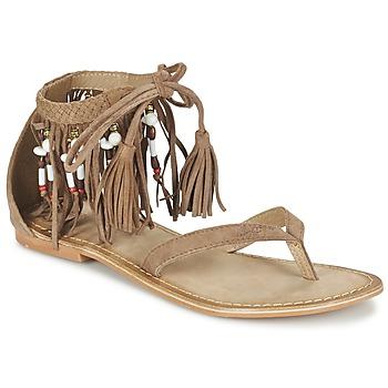 鞋子 女士 凉鞋 Vero Moda VMKAYA LEATHER SANDAL 棕色