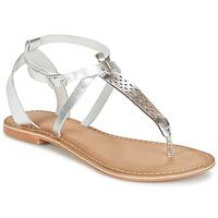 鞋子 女士 凉鞋 Vero Moda VMANNELI LEATHER SANDAL 银灰色