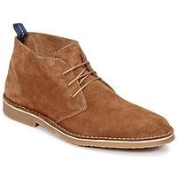 鞋子 男士 短筒靴 Selected 思莱德 ROYCE NEW 驼色