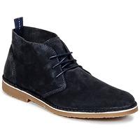 鞋子 男士 短筒靴 Selected 思莱德 ROYCE NEW 海蓝色