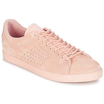 鞋子 女士 球鞋基本款 Le Coq Sportif 乐卡克 CHARLINE NUBUCK 玫瑰色