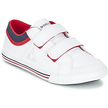 鞋子 男孩 球鞋基本款 Le Coq Sportif 乐卡克 SAINT GAETAN PS CVS 白色 / 红色