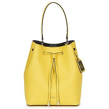 包 女士 手包 Ralph Lauren DRYDEN DEBBY DRAWSTRING 黄色