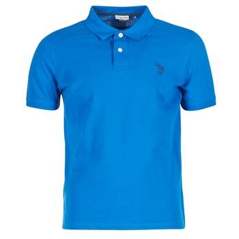 衣服 男士 短袖保罗衫 U.S Polo Assn. 美国马球协会 INSTITUTIONAL 蓝色