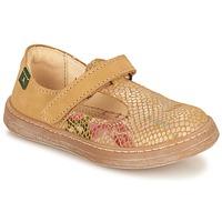 鞋子 女孩 平底鞋 El Naturalista KEPINA 米色