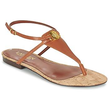 鞋子 女士 凉鞋 Lauren Ralph Lauren ANITA SANDALS CASUAL 棕色