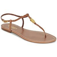 鞋子 女士 人字拖 Ralph Lauren AIMON SANDALS CASUAL 驼色