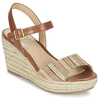 鞋子 女士 凉鞋 Lauren Ralph Lauren KEARA ESPADRILLES CASUAL 棕色 / 米色