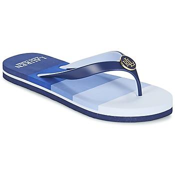 鞋子 女士 人字拖 Ralph Lauren ELISSA III SANDALS CASUAL 蓝色