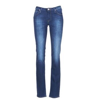 衣服 女士 直筒牛仔裤 Lee MARION STRAIGHT 蓝色 / EDIUM
