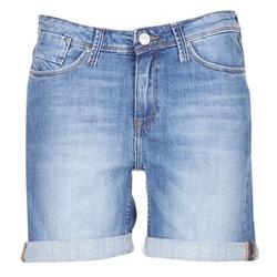 衣服 女士 短裤&百慕大短裤 Lee BOYFRIEND SHORT 蓝色 / EDIUM