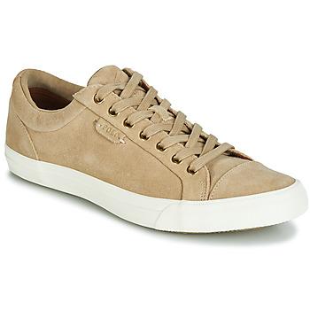 鞋子 男士 球鞋基本款 Polo Ralph Lauren GEFFREY 驼色