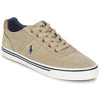 鞋子 男士 球鞋基本款 Polo Ralph Lauren HANFORD 灰褐色