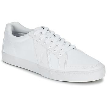 鞋子 男士 球鞋基本款 Ralph Lauren HUGH 白色
