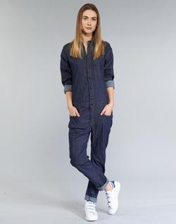 衣服 女士 连体衣/连体裤 G-Star Raw STALT 3D 蓝色 / Brut