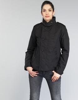 衣服 女士 风衣 G-Star Raw FLORENCE CROPPED 黑色