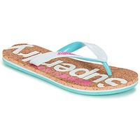 鞋子 女士 人字拖 Superdry 极度干燥 CORK COLOUR POP FLIP FLOP 白色 / 玫瑰色 / 蓝色