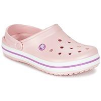 鞋子 女士 洞洞鞋/圆头拖鞋 crocs 卡骆驰 CROCBAND 玫瑰色