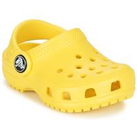 鞋子 儿童 洞洞鞋/圆头拖鞋 crocs 卡骆驰 Classic Clog Kids 黄色