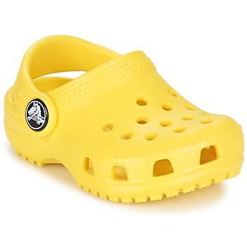 鞋子 儿童 洞洞鞋/圆头拖鞋 crocs 卡骆驰 Classic Clog Kids 柠檬色