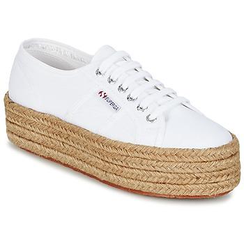 鞋子 女士 球鞋基本款 Superga 2790 COTROPE W 白色