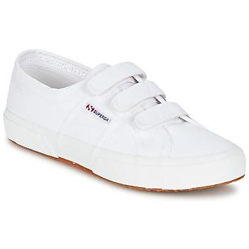 鞋子 球鞋基本款 Superga 2750 COT3 VEL U 白色