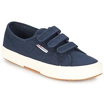 鞋子 球鞋基本款 Superga 2750 COT3 VEL U 海蓝色