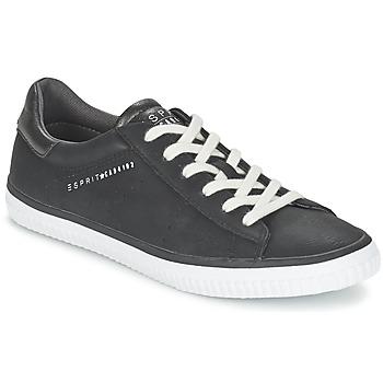 鞋子 女士 球鞋基本款 Esprit 埃斯普利 RIATA LACE UP 黑色