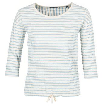 衣服 女士 女士上衣/罩衫 Marc O'Polo GRASSIRCO 白色 / 蓝色
