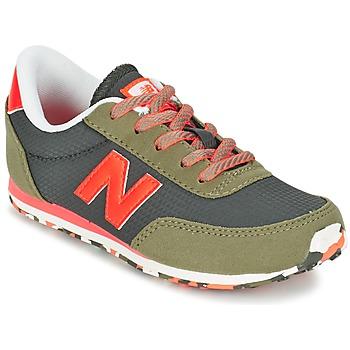鞋子 儿童 球鞋基本款 New Balance新百伦 KL410 绿色 / 灰色 / 橙色