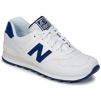 鞋子 球鞋基本款 New Balance新百伦 ML574 白色 / 蓝色