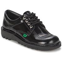 鞋子 女士 系带短筒靴 Kickers KICK LO 黑色