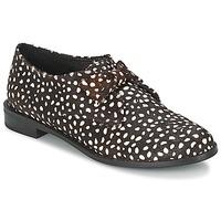 鞋子 女士 德比 F-Troupe Bow Polka 黑色 / 白色