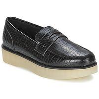 鞋子 女士 皮便鞋 F-Troupe Penny Loafer 黑色