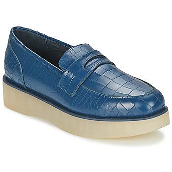 鞋子 女士 皮便鞋 F-Troupe Penny Loafer 海军蓝