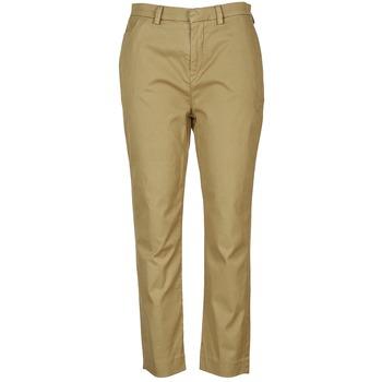 衣服 女士 休闲裤 Diesel 迪赛尔 P-RURI-B 棕色