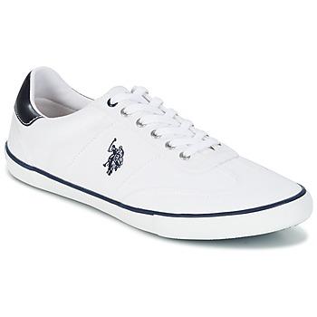 鞋子 男士 球鞋基本款 U.S Polo Assn. 美国马球协会 RAY 白色