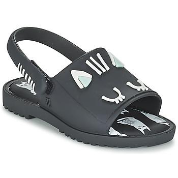 鞋子 女孩 涼鞋 Melissa 梅麗莎 MIA FABULA 黑色